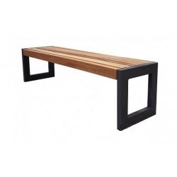 Kovová lavička Gabriela
