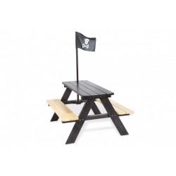 Zahradní sestava pro děti bez opěrky SENZA Pirát, pro 4 děti