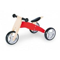 MINI dětská tříkolka dřevěná