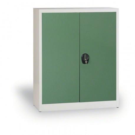 Dílenská skříň SAMANTA I., šedá/zelená
