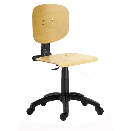 Židle posuvná s kolečky nebo kluzáky ALEX
