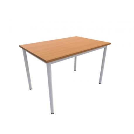 Jídelní stůl NIKOLA, obdélník, podnož rámový celosvařenec trubka