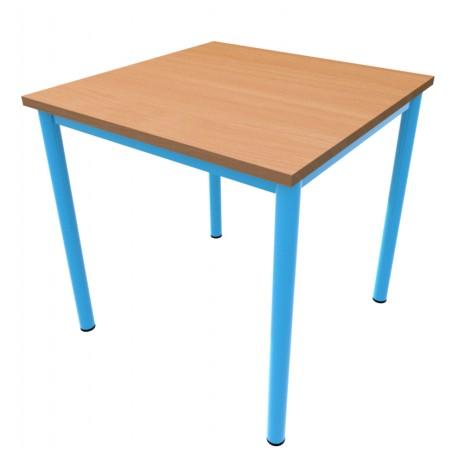 Jídelní stůl NIKOLA, čtverec, podnož rámový celosvařenec trubka