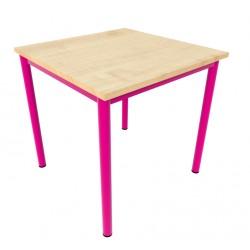 Stůl NIKOLA, čtverec, podnož rámový celosvařenec trubka
