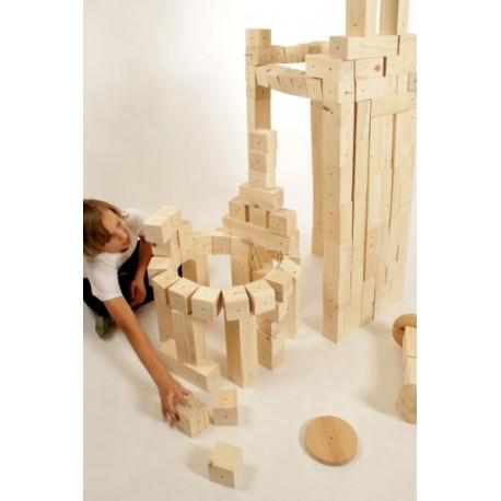 Velká stavebnice dřevěná