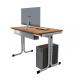 Školní PC stůl - YGNÁC E1S - výškově nastavytelný
