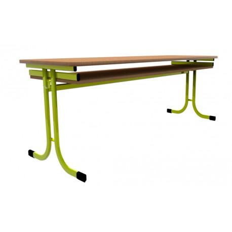 Školní žákovská lavice YGNÁC třímístná