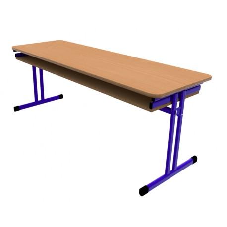 Školní žákovská lavice HUBERT třímístná