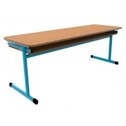 Školní žákovská lavice OTTO třímístná