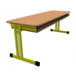 Školní žákovská lavice PERFO třímístná
