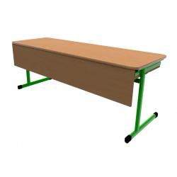Školní žákovská lavice OTTO třímístná s clonou