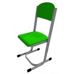 Židle YGNÁC, stavitelná, CPL zelená