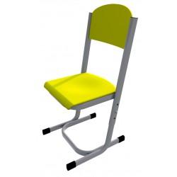 Židle YGNÁC, stavitelná, CPL žlutá