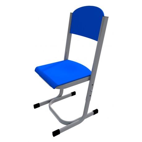 Školní žákovská židle YGNÁC, stavitelná, CPL modrá