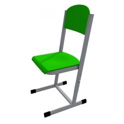 Židle HUBERT, stavitelná, CPL zelená