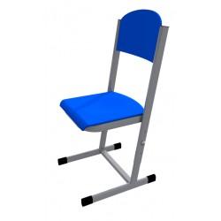 Židle HUBERT, stavitelná, CPL modrá