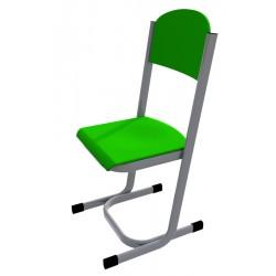 Školní žákovská židle YGNÁC, CPL zelená