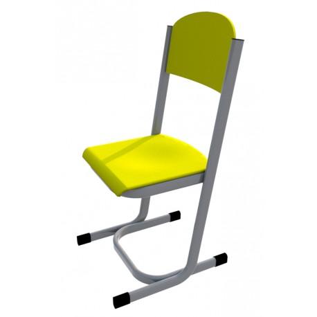 Školní žákovská židle YGNÁC, CPL žlutá
