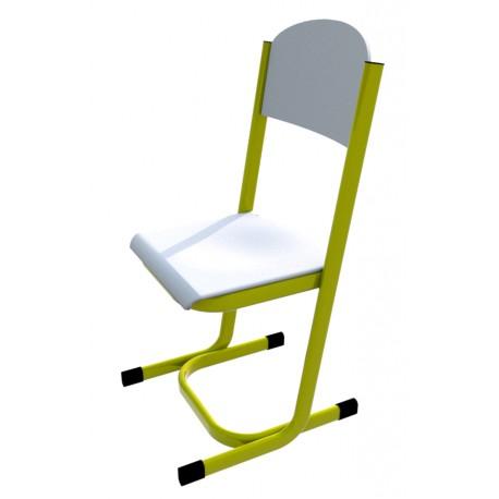 Školní žákovská židle YGNÁC, CPL bílá