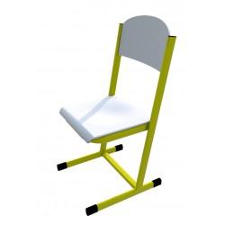 Školní žákovská židle HUBERT, CPL bílá