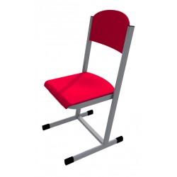 Školní žákovská židle HUBERT, CPL červená