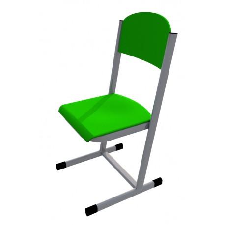 Školní žákovská židle HUBERT, CPL zelená