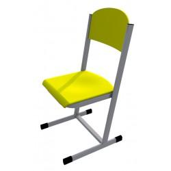Školní žákovská židle HUBERT, CPL žlutá