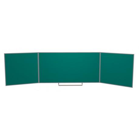 Keramická tabule TRIPTYCH - nástěnná, zelená
