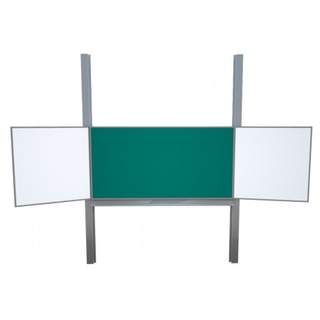 Keramická tabule TRIPTYCH, na pylonech, střed zelený