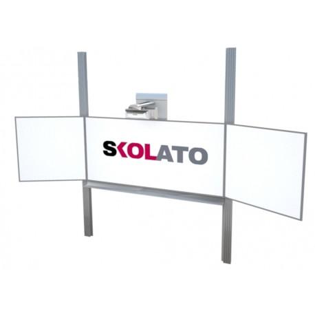 Interaktivní tabule na pylonech, na fixy