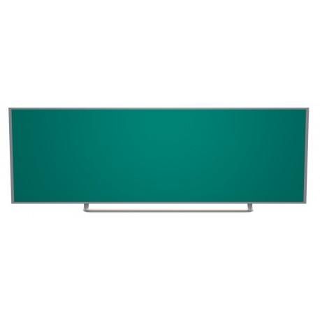 Keramická magnetická tabule - nástěnná, 300 x 120 cm, zelená