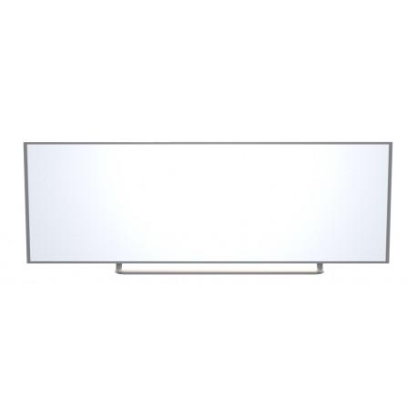 Keramická magnetická tabule - nástěnná, 300 x 120 cm, bílá