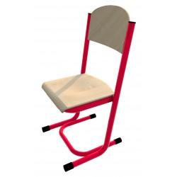 Židle GÁBINA, pevná - trubková konstrukce