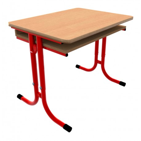 Školní žákovská lavice GÁBINA jednomístná, stavitelná
