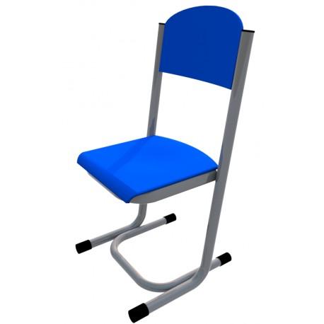 Židle GÁBINA, CPL modrá, trubková konstrukce