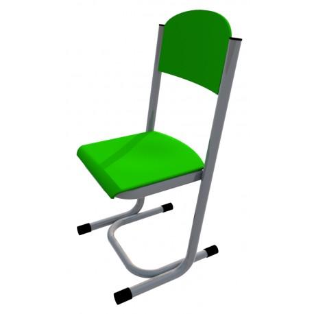 Židle GÁBINA, CPL zelená, trubková konstrukce