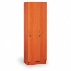 Šatní skříň, AGÁTA, 2 oddíly, třešeň
