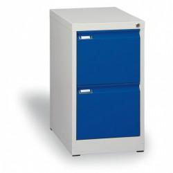 Kartotéka A4, kovová, 2 zásuvky JOHANA, modrá