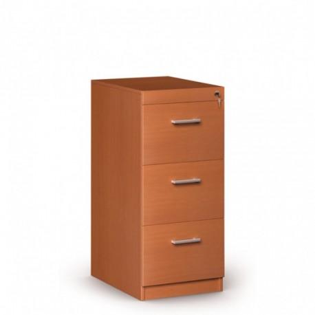 Dřevěná kartotéka, 3 zásuvky JANIČKA, třešeň