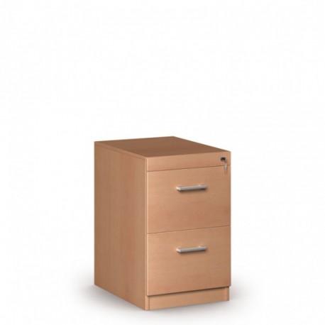 Dřevěná kartotéka, 2 zásuvky JANIČKA, buk