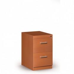 Dřevěná kartotéka, 2 zásuvky JANIČKA, třešeň