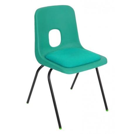 Žákovská židle STELA, čalouněný sedák
