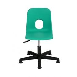 Žákovská židle STELA, na pístu
