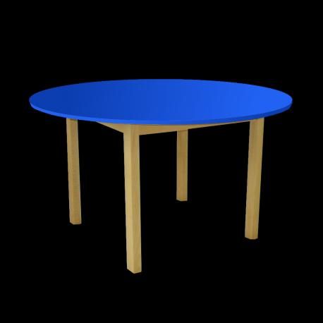 Dětský stoleček MATEO, kruh, barevná deska