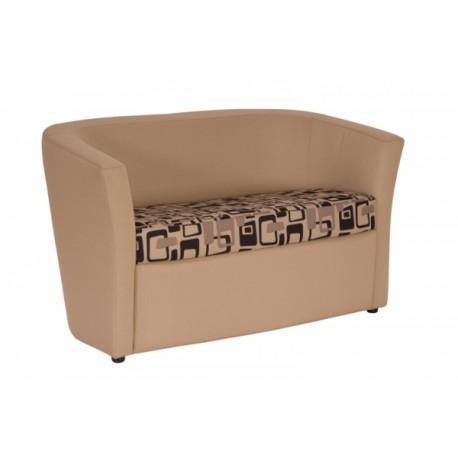 Dvoumístné sofa čalouněné WAKE