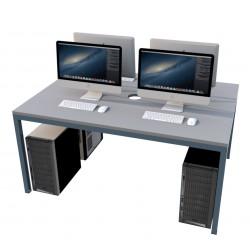 Čtyřmístný, pevný PC stůl SKOLATO