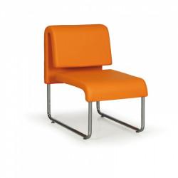 Křeslo Public, oranžová