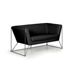 Sofa NAM dvoumístné černé
