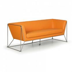 Sofa NAM trojmístné oranžové
