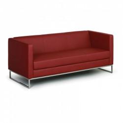 Sofa CUB trojmístné červené